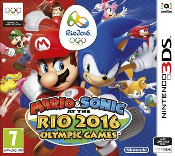 3DS Mario and Sonic at the Rio 2016 Olympic Games