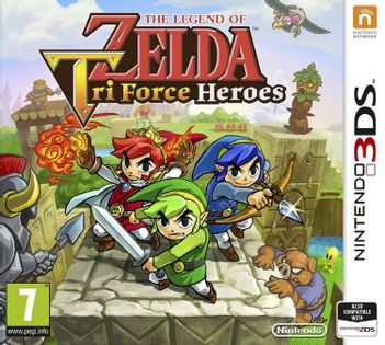 3DS Legend of Zelda: Tri Force Heroes