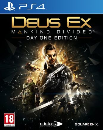 PS4 Deus Ex: Mankind Divided Day One