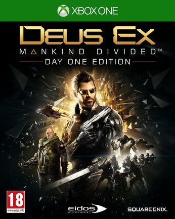 Xbox One Deus Ex: Mankind Divided Day One