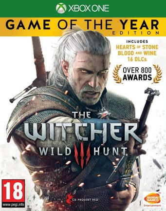 Xbox One Witcher 3: Wild Hunt GOTY Edition