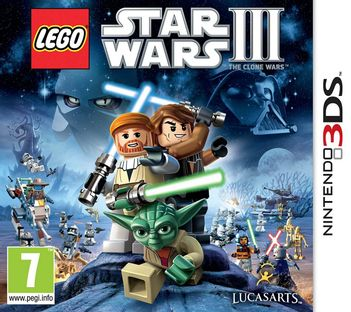 3DS LEGO Star Wars III: The Clone Wars