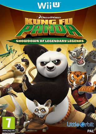 Wii U Kung Fu Panda: Showdown of Legendary Legends