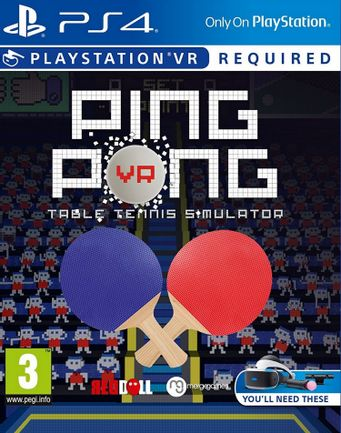 PS VR Ping Pong - Table Tennis Simulator