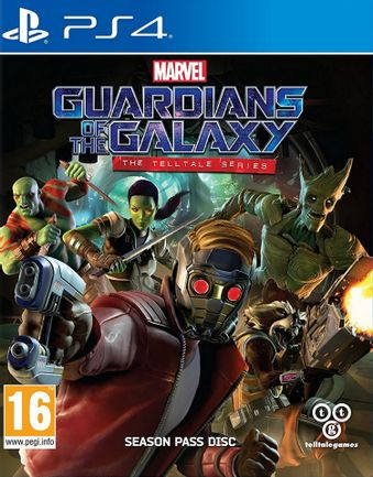 PS4 Marvel's Guardians of the Galaxy - The Telltale Series Season Pass Disc