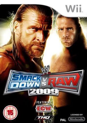 Wii WWE SmackDown vs Raw 2009