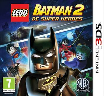 3DS LEGO Batman 2: DC Super Heroes