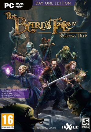 PC Bard's Tale IV: Barrows Deep Day One Edition