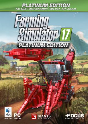 PC Farming Simulator 17 Platinum Edition