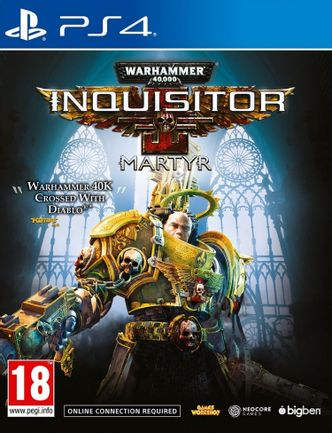 PS4 Warhammer 40,000: Inquisitor – Martyr