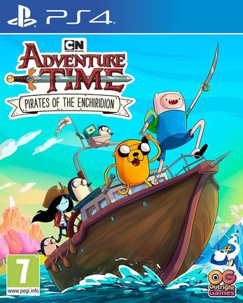 PS4 Adventure Time: Pirates of the Enchiridion