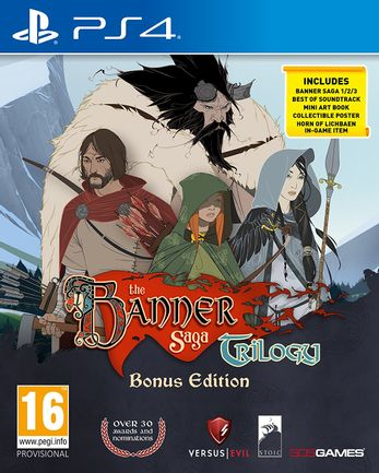 PS4 Banner Saga Trilogy: Bonus Edition