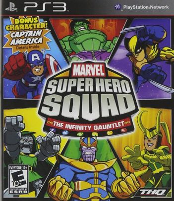 PS3 Marvel Super Hero Squad: The Infinity Gauntlet US Version