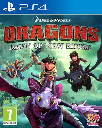 PS4 DreamWorks Dragons Dawn of New Riders