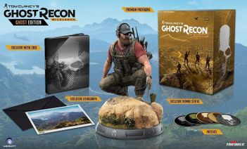 Tom Clancy's Ghost Recon: Wildlands Ghost Collector's Edition - Game Not Included