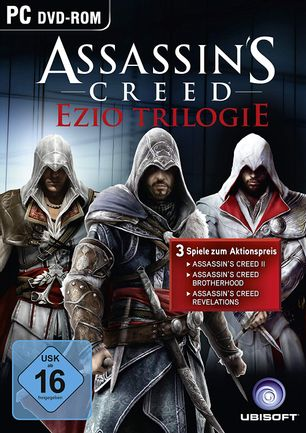 PC Assassin's Creed: Ezio Trilogy incl. AC II, Brotherhood and Revelations