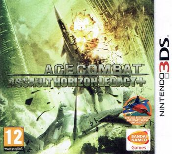 3DS Ace Combat: Assault Horizon Legacy+