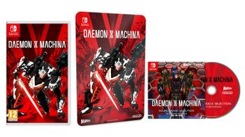 SWITCH Daemon X Machina incl. Metal Plate and Soundtrack CD