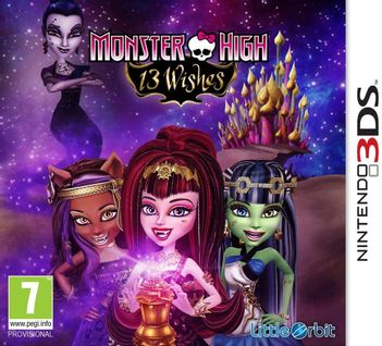 3DS Monster High: 13 Wishes