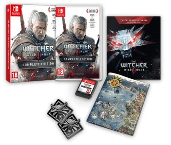 SWITCH Witcher 3: Complete Edition