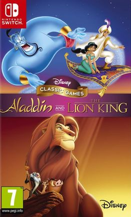 SWITCH Disney Classic Games: Aladdin and The Lion King