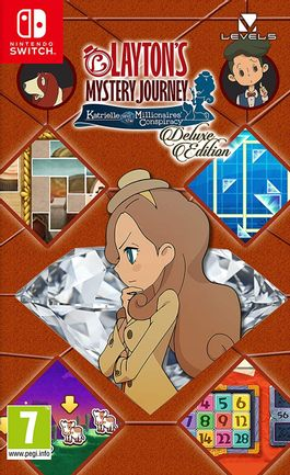 SWITCH Layton's Mystery Journey: Katrielle and the Millionaires' Conspiracy - Deluxe Edition