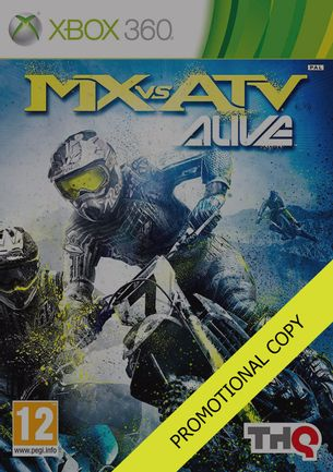 Xbox 360 MX vs ATV: Alive [Promo Copy]