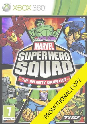 Xbox 360 Marvel Super Hero Squad: The Infinity Gauntlet - Promotional Copy