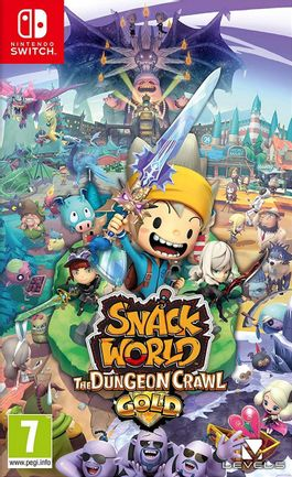 SWITCH Snack World: The Dungeon Crawl Gold