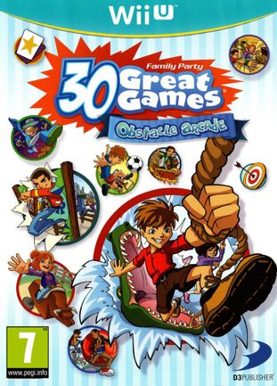 Wii U Family party: 30 Great Games - Obstacle Arcade