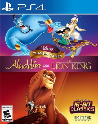 PS4 Disney Classic Games: Aladdin and The Lion King US Version