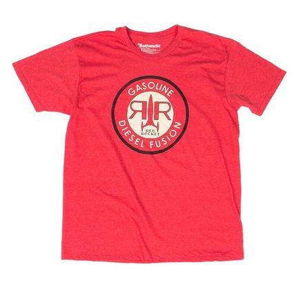 Roblox Wolfenstein Shirt T Shirt Fallout 4 Red Rocket Red Size L